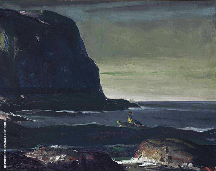 Evening Swell 1911 Painting By George Bellows - Reproduction Gallery