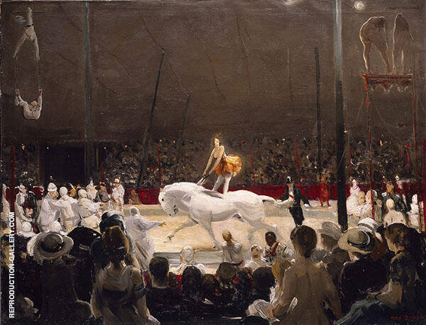 The Circus 1912 By George Bellows