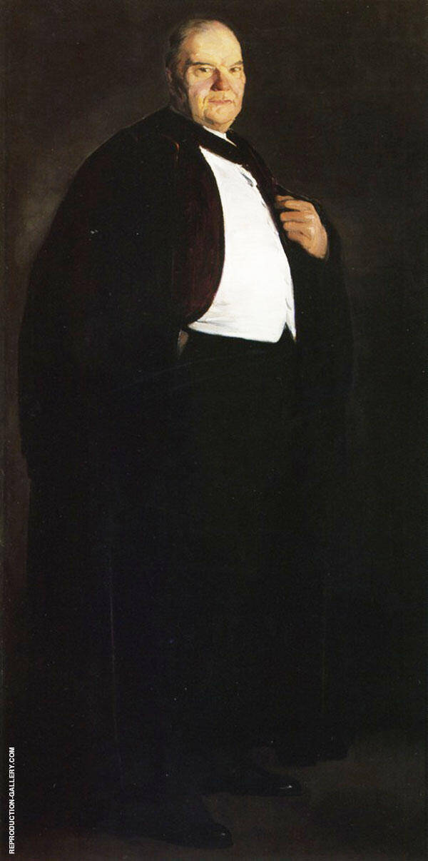 William Oxley Thompson 1913 By George Bellows