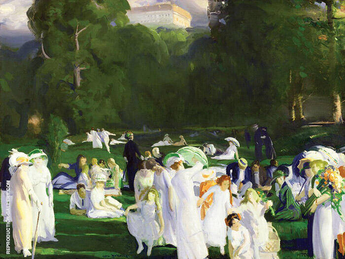 A Day in June 1913 By George Bellows
