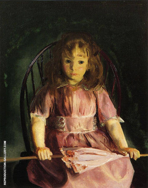 Jean in a Pink Dress 1921 By George Bellows
