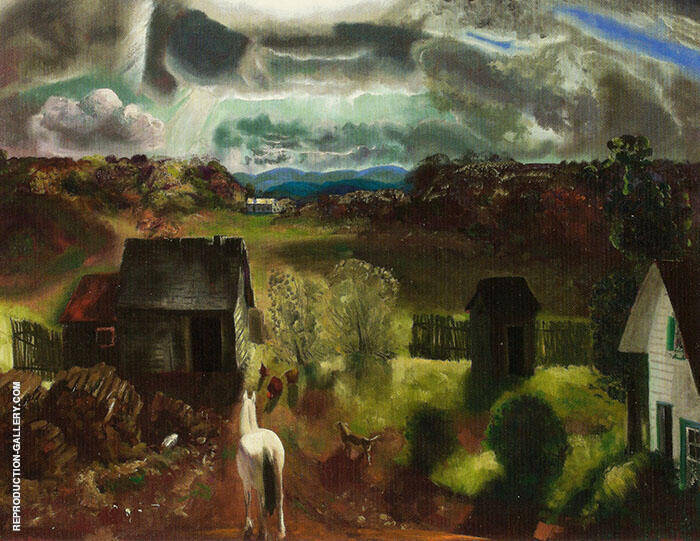The White Horse 1922 Painting By George Bellows - Reproduction Gallery