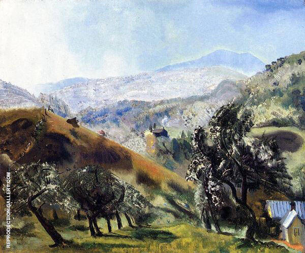 Mountain Orchard 1922 By George Bellows