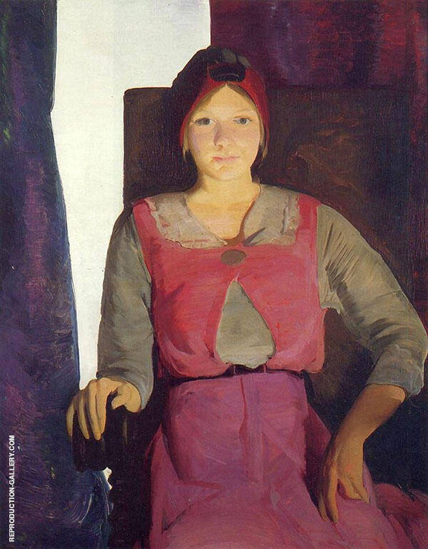 Geraldine Lee No.2 1914 Painting By George Bellows - Reproduction Gallery