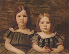 Aimee Ernanesta and Cecilia Beaux early 1880s By Cecilia Beaux