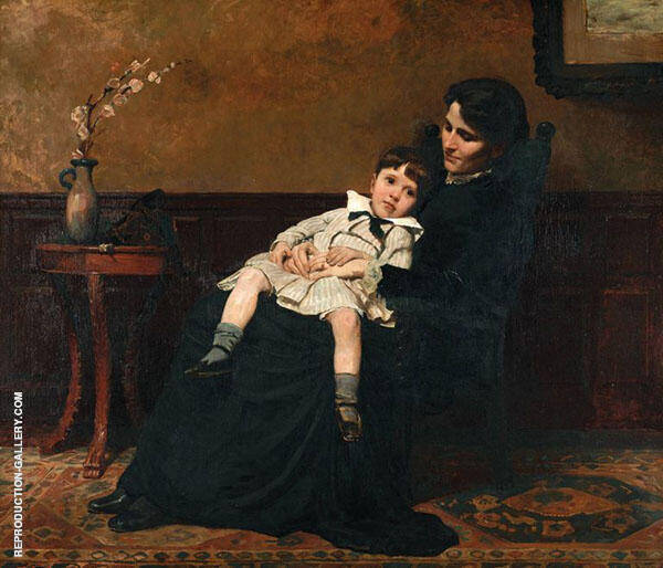 The Last Days of Infancy 1885 Painting By Cecilia Beaux