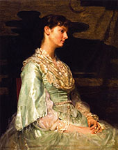 Ethel Page as Undine 1885 By Cecilia Beaux