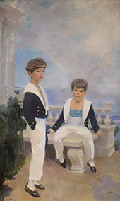 The Velie Boys 1913 By Cecilia Beaux