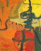 Untitled October 1949 By Elmer Bischoff