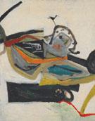 Untitled c.a.1950 1951 By Elmer Bischoff
