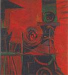 Untitled March 1948 By Elmer Bischoff
