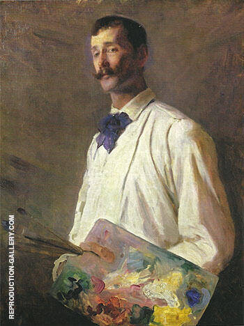 Alaxander Harrison 1888 By Cecilia Beaux - Oil Paintings & Art Reproductions - Reproduction Gallery