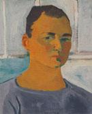 Self Portrait 1955 By Elmer Bischoff