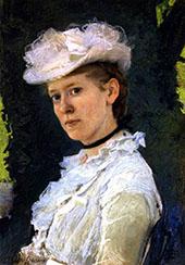 Lady Darwin Maud DuPuy 1889 By Cecilia Beaux