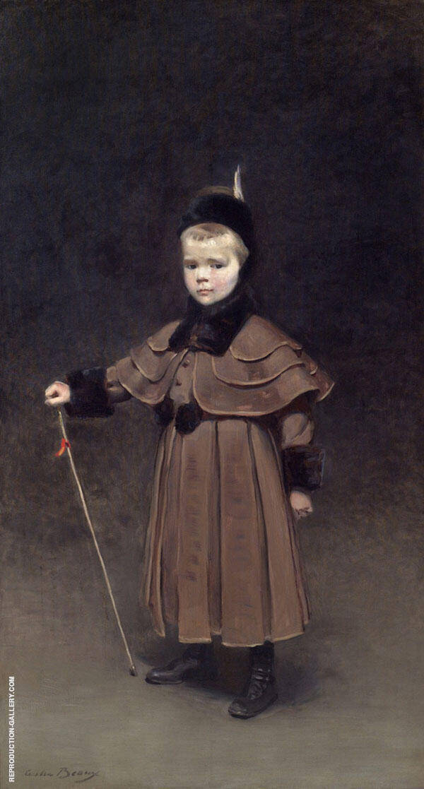 Cecil Kent Drinker 1891 By Cecilia Beaux Replica Paintings on Canvas - Reproduction Gallery