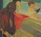 Green Bathtub 1954 By Elmer Bischoff