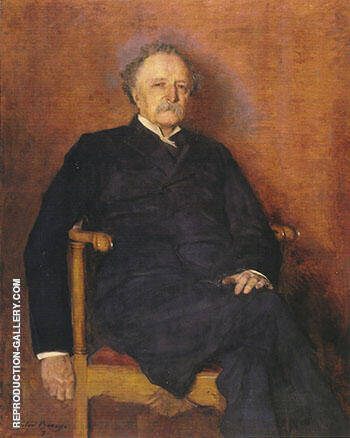 The Reverend Matthew Blackburne Grier 1892 By Cecilia Beaux - Oil Paintings & Art Reproductions - Reproduction Gallery
