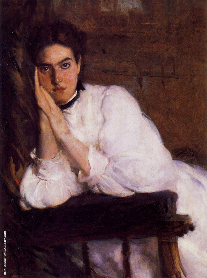 The Dreamer 1893 Painting By Cecilia Beaux - Reproduction Gallery