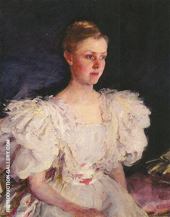 Reproduction of Mrs George W Childs Drexel Mary Irick 1894 by Cecilia Beaux | Oil Painting Replica On CanvasReproduction Gallery