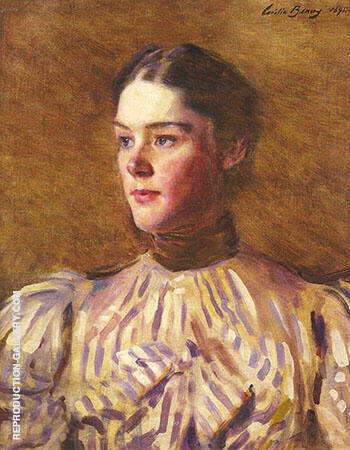 Self Portrait 1894 By Cecilia Beaux Replica Paintings on Canvas - Reproduction Gallery
