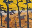Yellow Sky 1967 By Elmer Bischoff