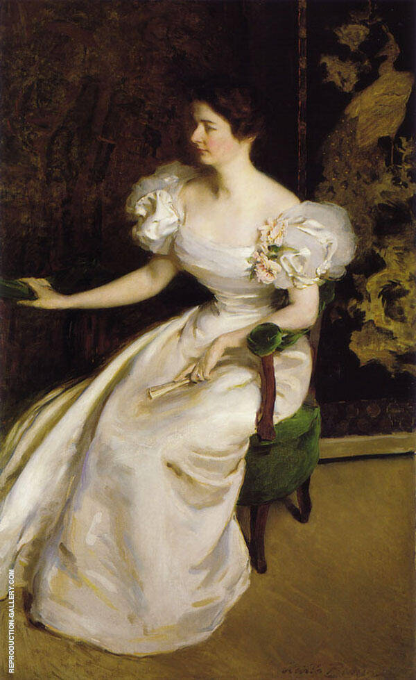 Mrs Clement B Newbold 1896 By Cecilia Beaux