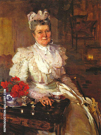 Mrs Thomas A Scott Anna Riddle 1897 By Cecilia Beaux