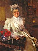 Mrs Thomas A Scott Anna Riddle 1897 By Cecilia Beaux