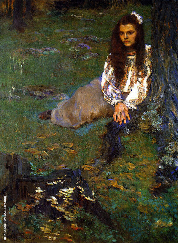 Dorothea in the Woods 1897 By Cecilia Beaux