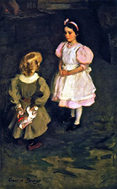 Sister and Brother 1897 By Cecilia Beaux