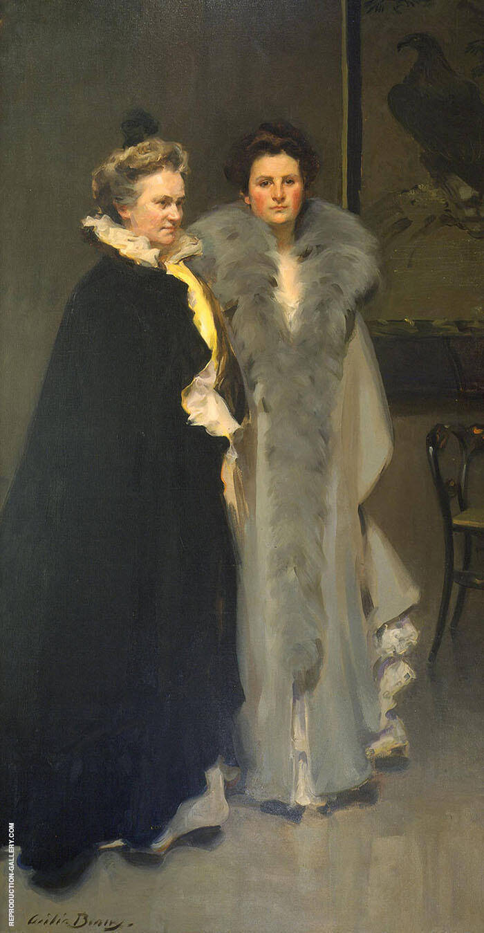 Mother and Daughter 1898 By Cecilia Beaux