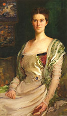 Mrs Isaac Newton Phelps Stokes Edith Minturn 1898 By Cecilia Beaux
