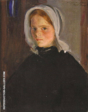 Little Lamerche ca 1900 By Cecilia Beaux