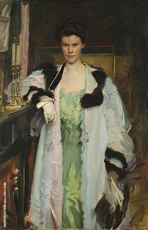 Bertha Hallowell Vaughan 1901 By Cecilia Beaux
