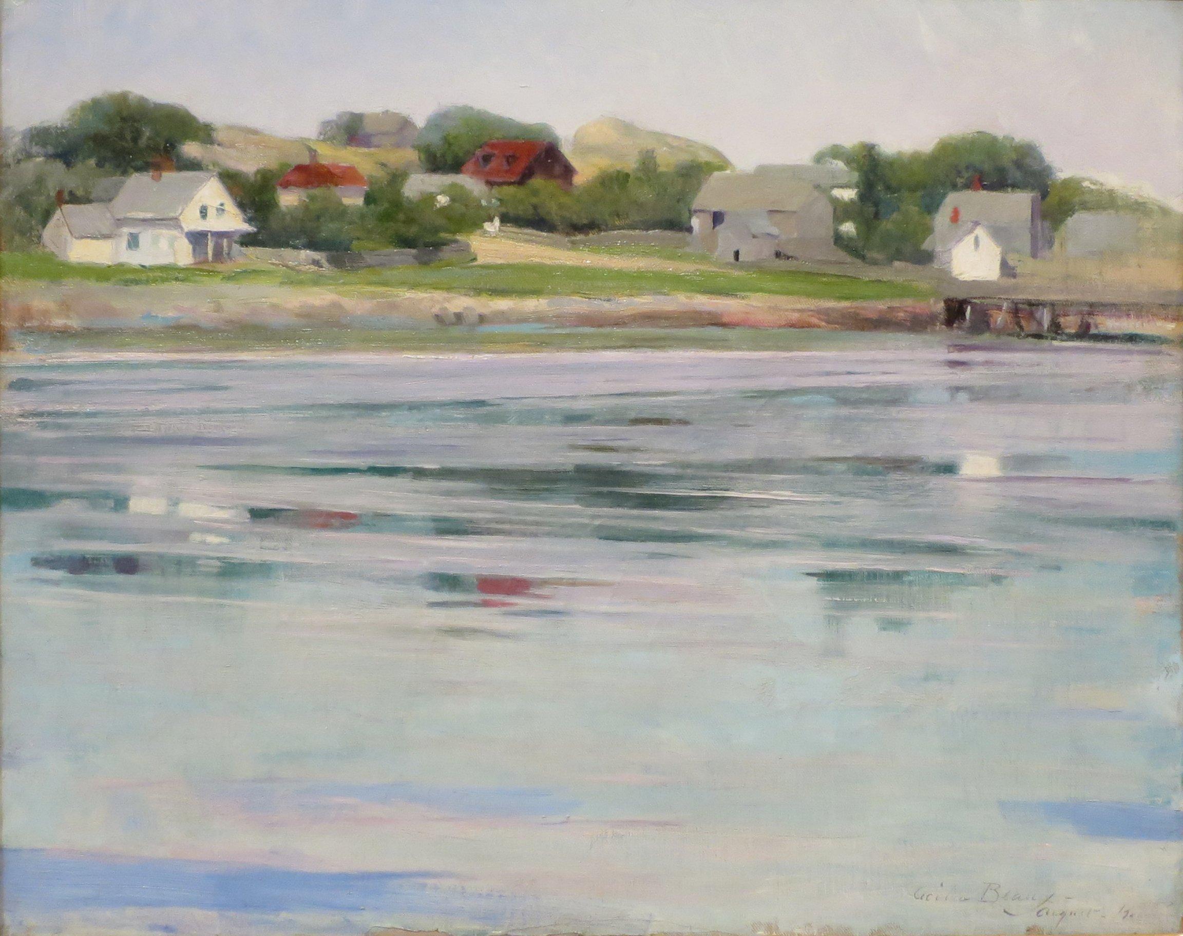 Half Tide Annisquam River 1905 By Cecilia Beaux