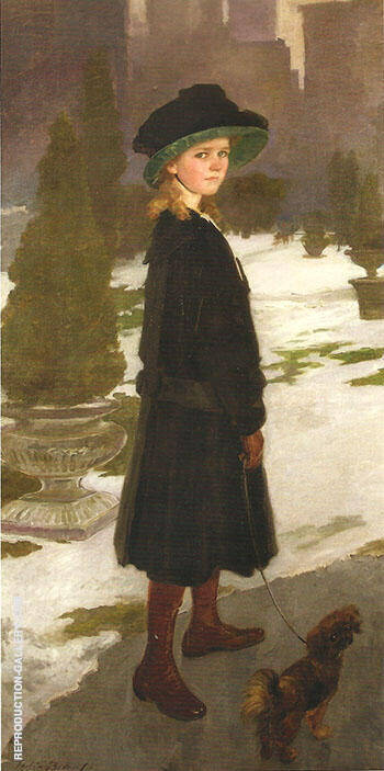 Alice Davison 1909 By Cecilia Beaux