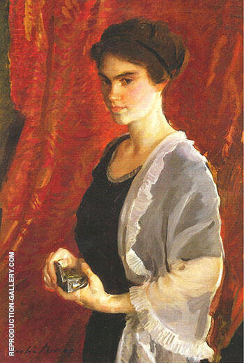 Reproduction Of The Silver Box 1911 By Cecilia Beaux Oil