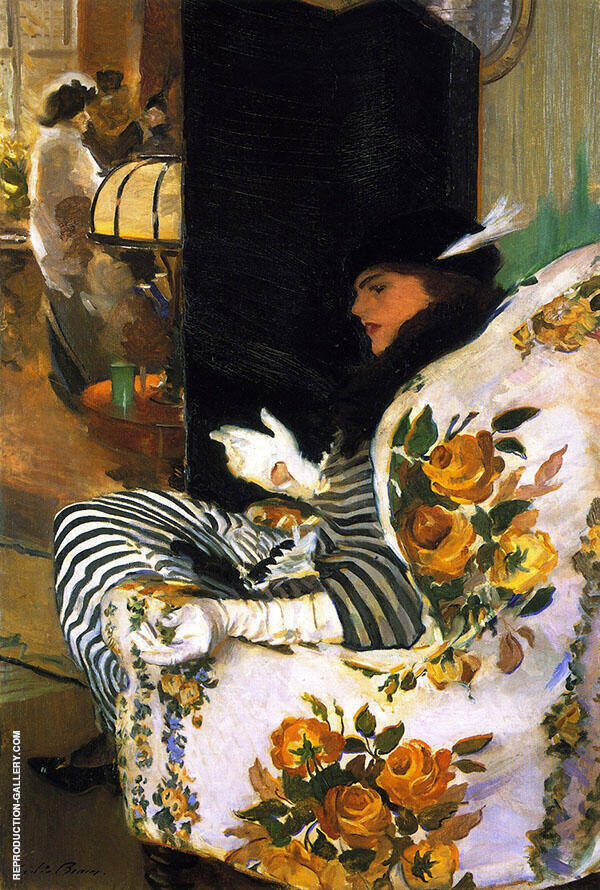 After the Meeting 1914 By Cecilia Beaux