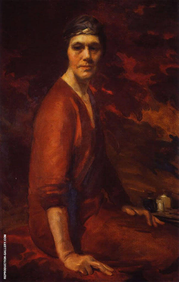 Self Portrait 1925 By Cecilia Beaux