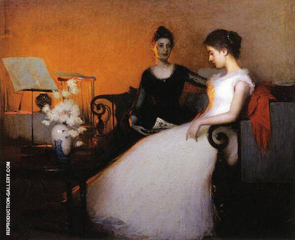 Twilight 1891 By Frank Weston Benson
