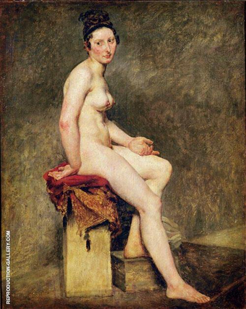 Mademoiselle Rose By Eugene Delacroix