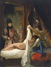 Louis d' Orleans Showing his Mistress c1825 By Eugene Delacroix
