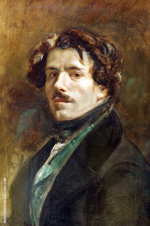 Self Portrait c 1837 By F.V.E. Delcroix
