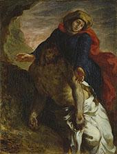 Pieta c 1850 By Eugene Delacroix