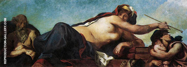 Justice c1833 By Eugene Delacroix