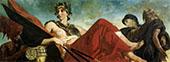 War c1833 By Eugene Delacroix