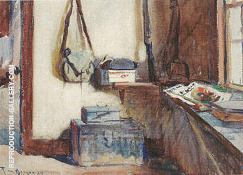 An Artist's Studio 1927 By Frank Weston Benson