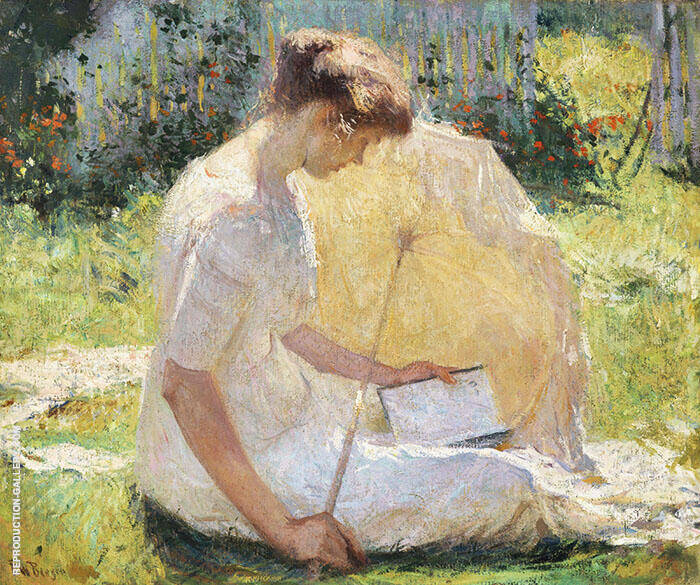 The Reader 1906 By Frank Weston Benson
