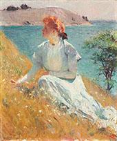 Margaret Gretchen Strong 1909 By Frank Weston Benson