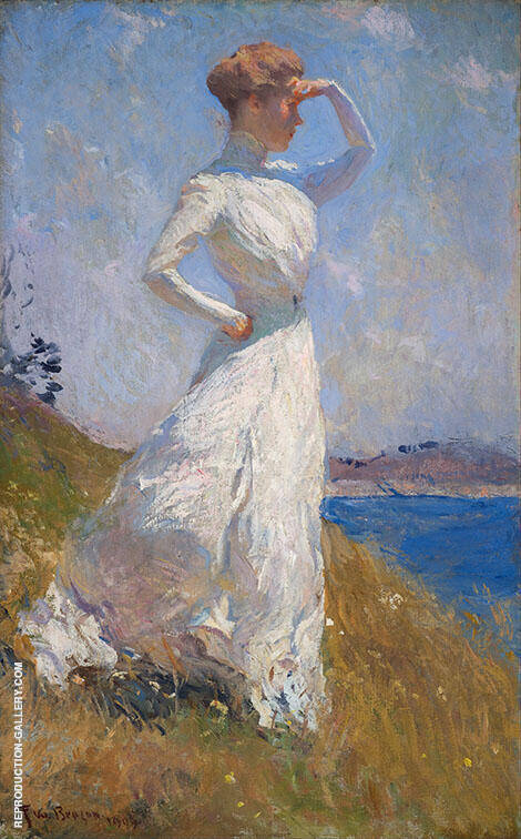 Sunlight 1909 By Frank Weston Benson